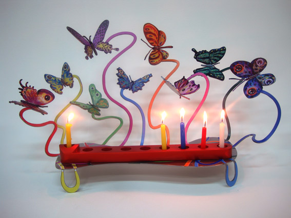 David Gerstein - Hanukkia Butterflies 