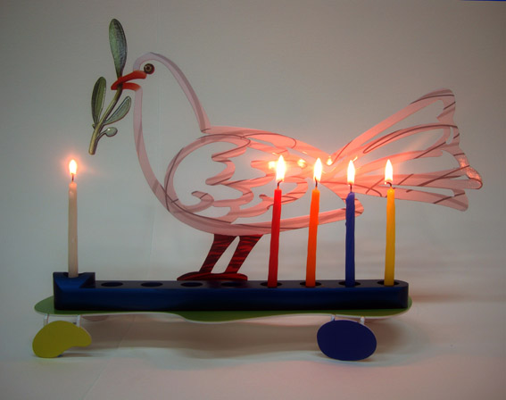 David Gerstein - Hanukkia Dove 