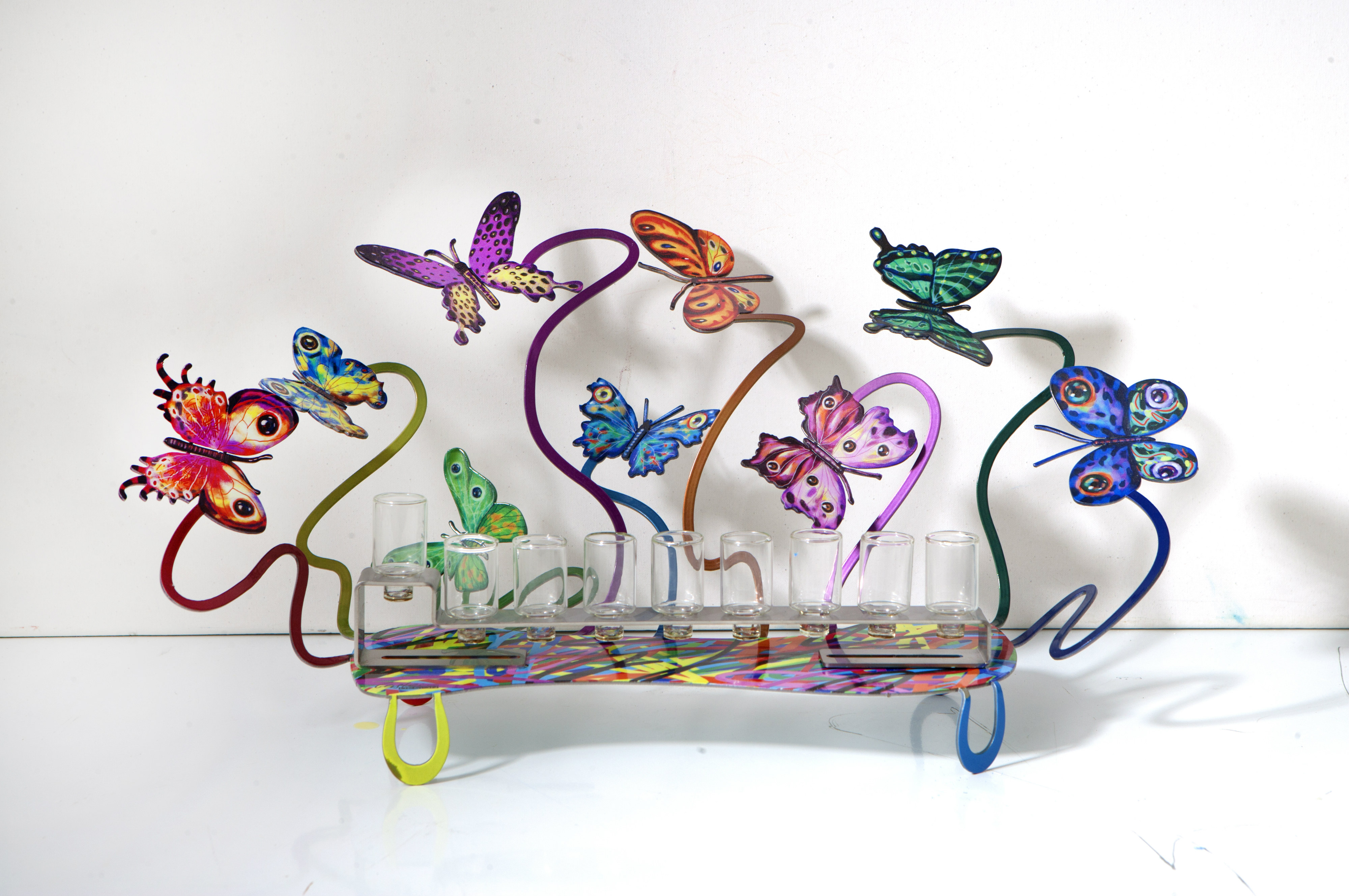 Hannukia Butterflies by David Gerstein exclusive to GersteinART