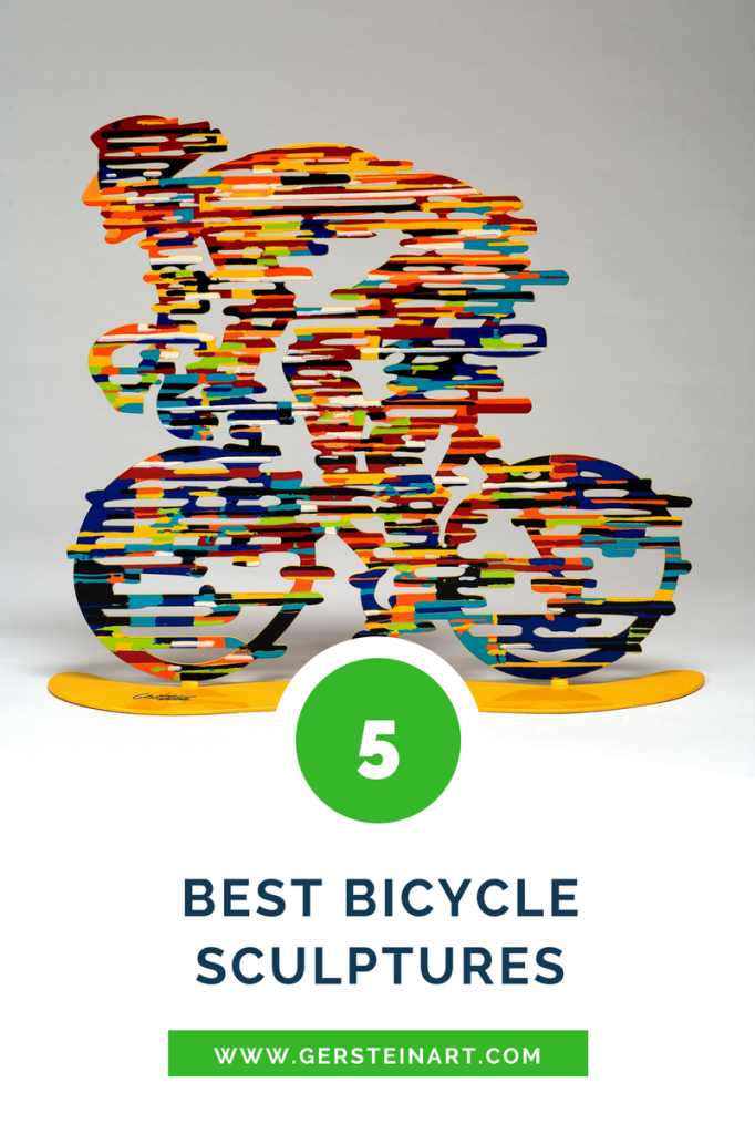 the top five bicycle sculptures by david gerstein