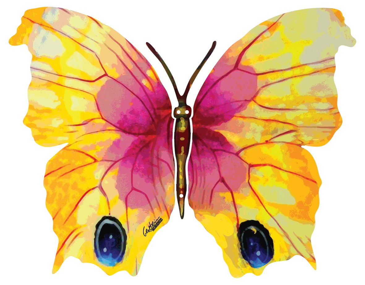 Ruth butterfly by David Gerstein a brand new wall mounted sculpture ...