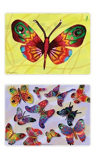Butterflies Placemats set