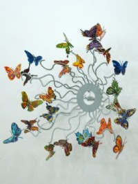 Wall mounted butterflies