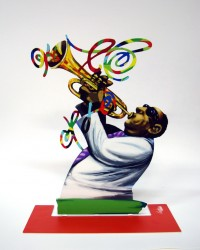 Trumpet player front