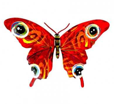 Vered butterfly