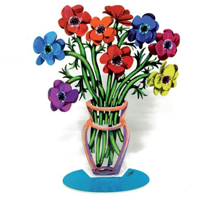 Poppies Vase - Small