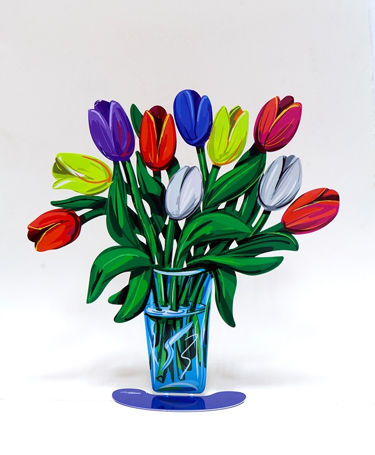 David Gerstein metal flower bouquets only at GersteinART