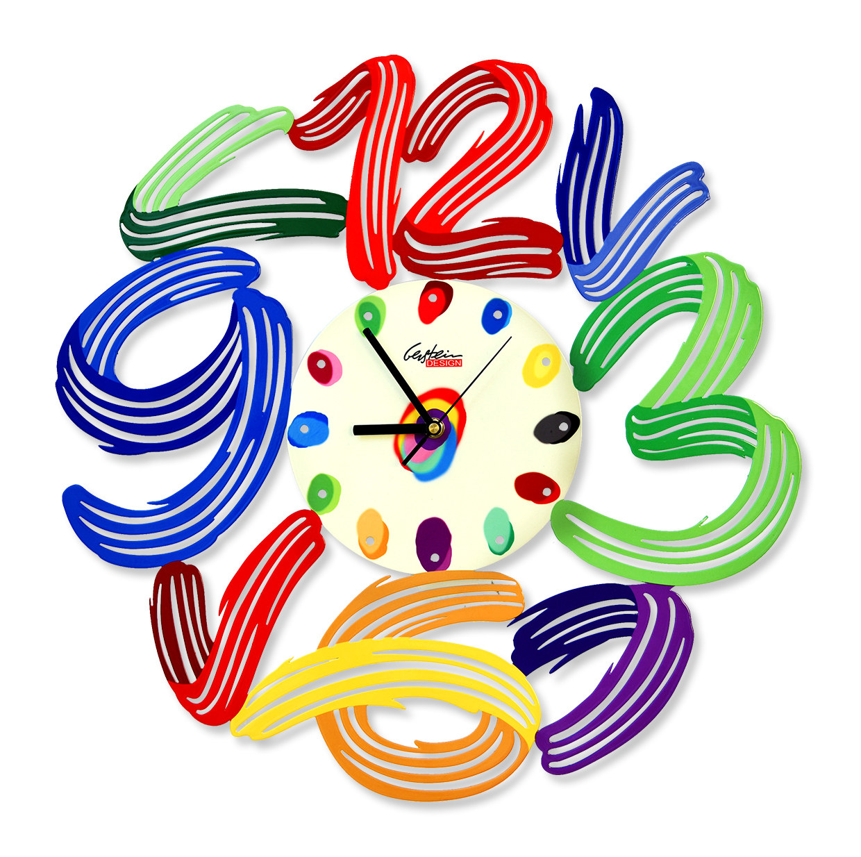 art-time-clock by david gerstein