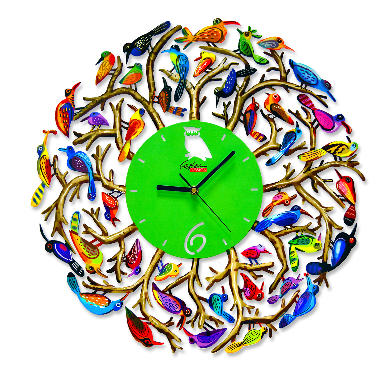 nature-time clock by david gerstein